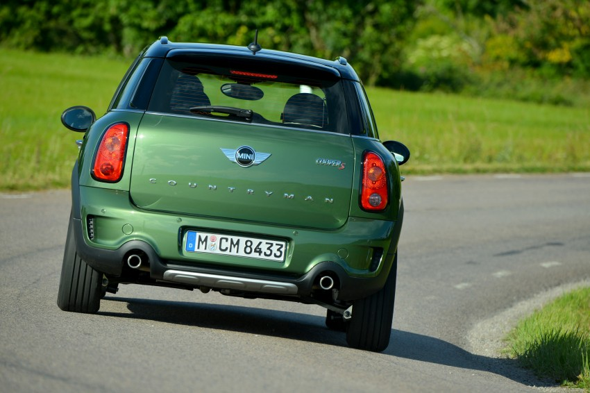 GALLERY: MINI Countryman, Paceman facelift detailed Image #258289