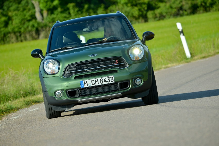 GALLERY: MINI Countryman, Paceman facelift detailed Image #258269