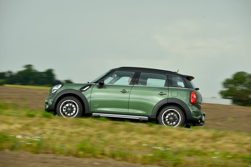 GALLERY: MINI Countryman, Paceman facelift detailed Image #258364