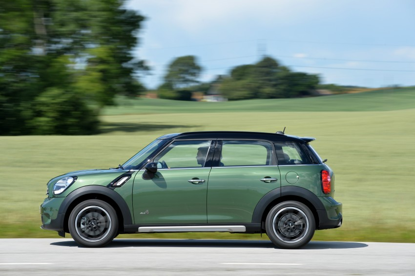 GALLERY: MINI Countryman, Paceman facelift detailed Image #258380