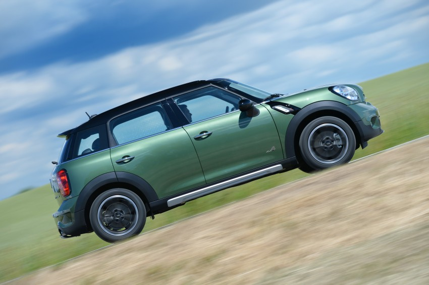 GALLERY: MINI Countryman, Paceman facelift detailed Image #258342