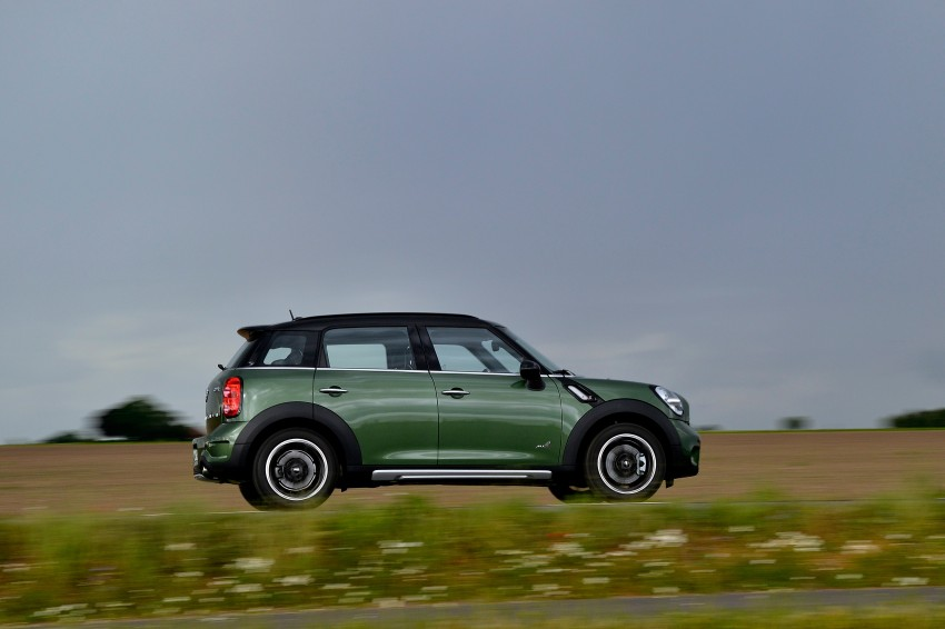 GALLERY: MINI Countryman, Paceman facelift detailed Image #258277