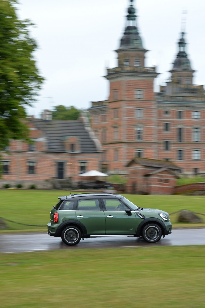 GALLERY: MINI Countryman, Paceman facelift detailed Image #258354