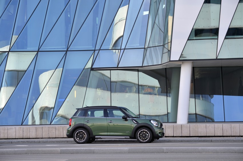 GALLERY: MINI Countryman, Paceman facelift detailed Image #258303
