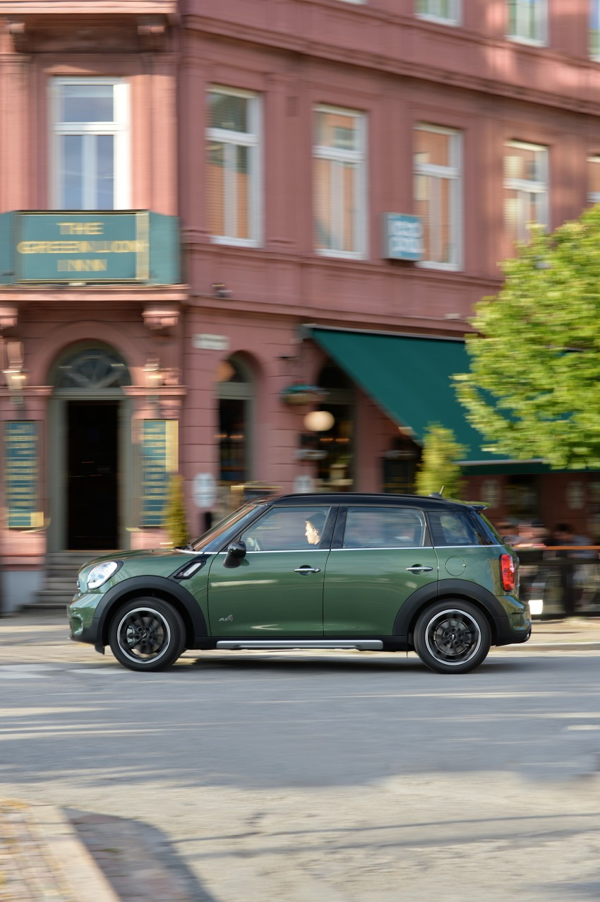 GALLERY: MINI Countryman, Paceman facelift detailed Image #258333