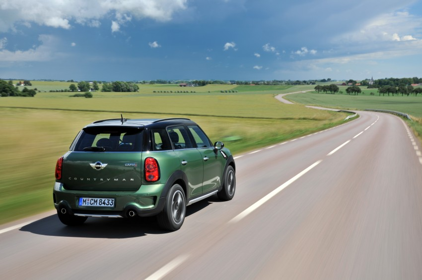 GALLERY: MINI Countryman, Paceman facelift detailed Image #258379