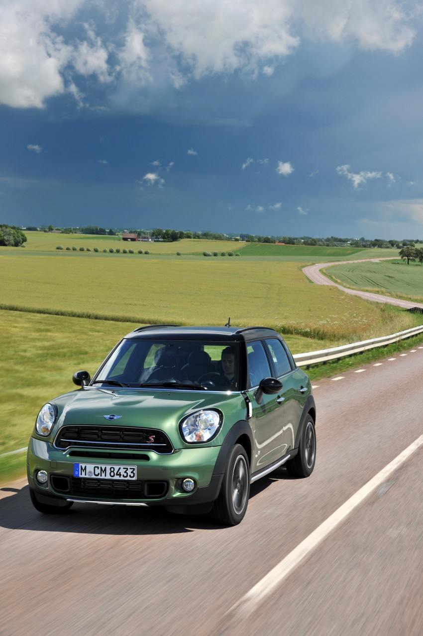 GALLERY: MINI Countryman, Paceman facelift detailed Image #258309