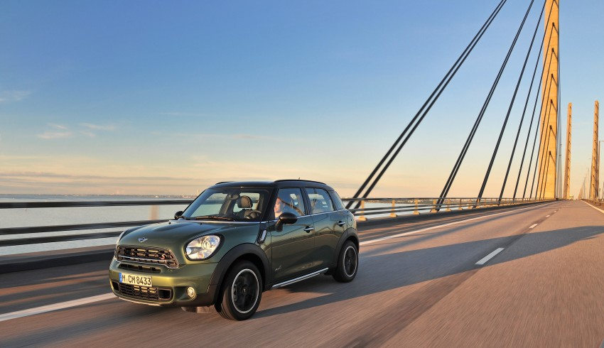 GALLERY: MINI Countryman, Paceman facelift detailed Image #258225