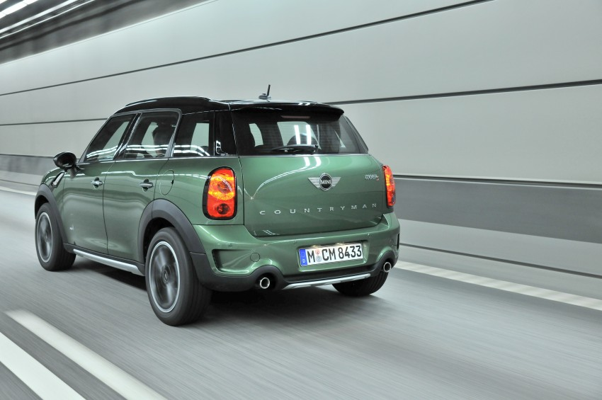 GALLERY: MINI Countryman, Paceman facelift detailed Image #258241