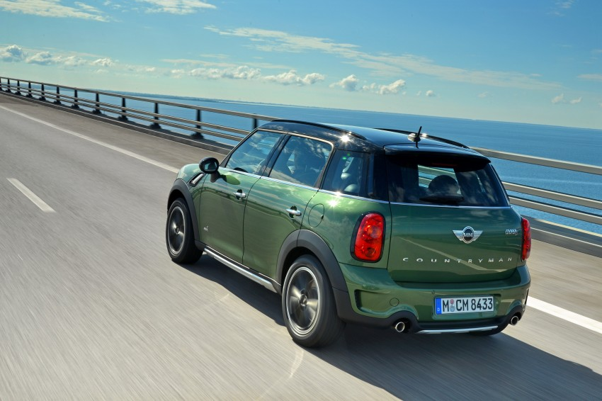 GALLERY: MINI Countryman, Paceman facelift detailed Image #258235