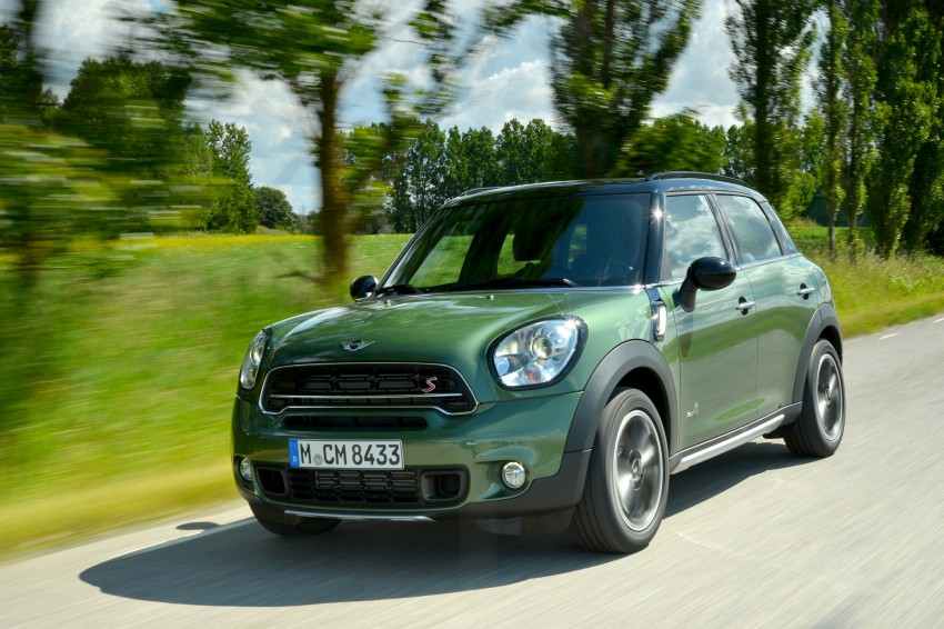 GALLERY: MINI Countryman, Paceman facelift detailed Image #258201