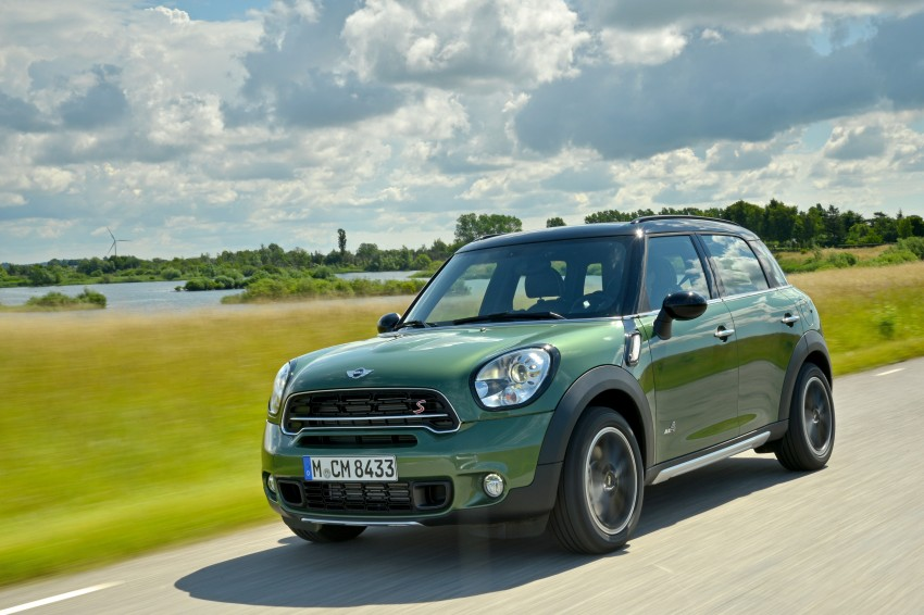 GALLERY: MINI Countryman, Paceman facelift detailed Image #258288