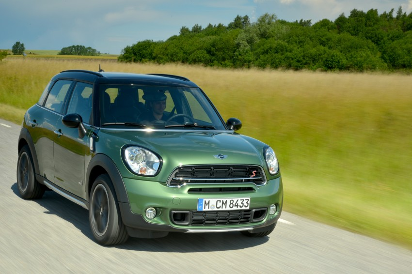 GALLERY: MINI Countryman, Paceman facelift detailed Image #258295