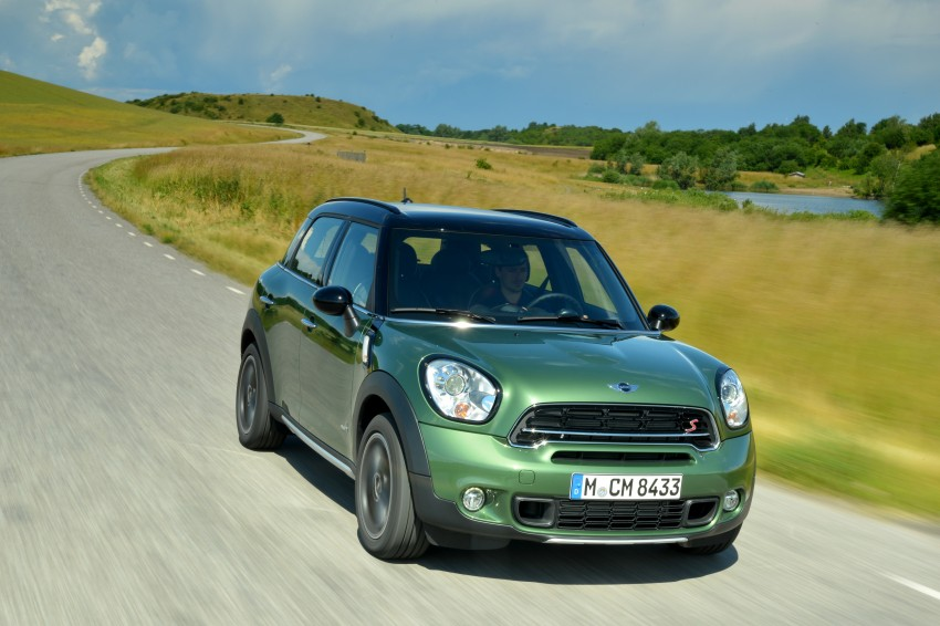 GALLERY: MINI Countryman, Paceman facelift detailed Image #258317