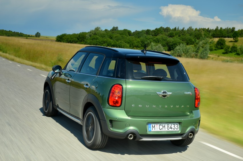 GALLERY: MINI Countryman, Paceman facelift detailed Image #258323
