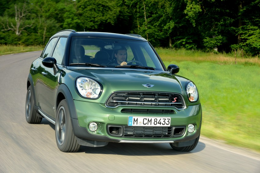 GALLERY: MINI Countryman, Paceman facelift detailed Image #258248