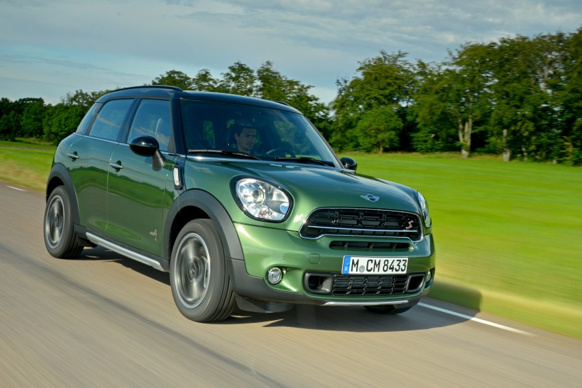 GALLERY: MINI Countryman, Paceman facelift detailed Image #258283