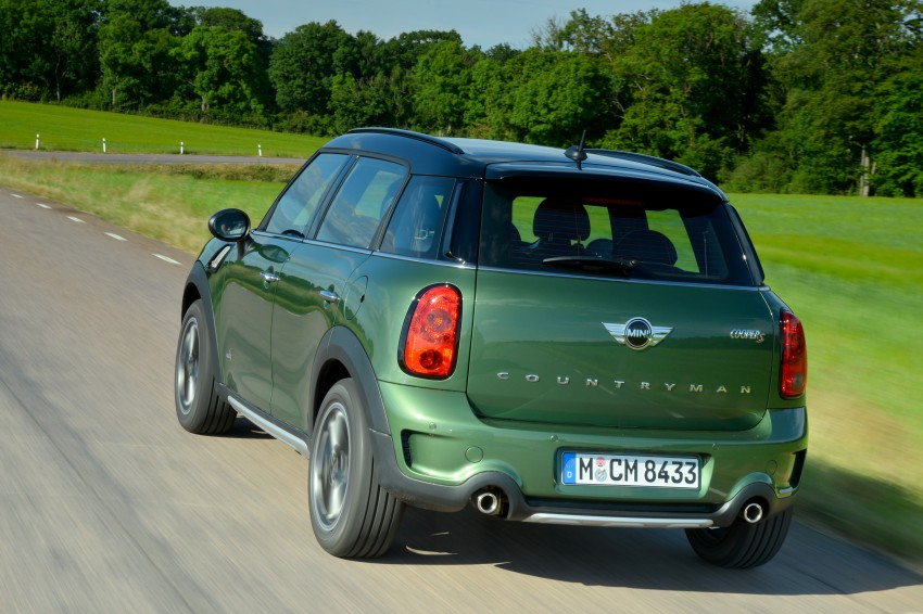 GALLERY: MINI Countryman, Paceman facelift detailed Image #258234