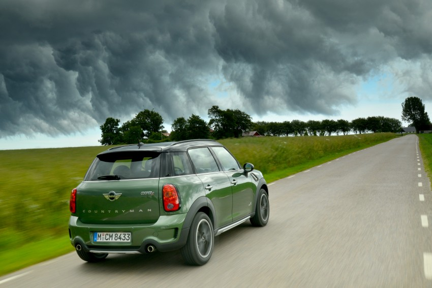 GALLERY: MINI Countryman, Paceman facelift detailed Image #258284