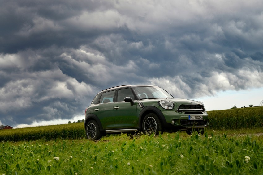 GALLERY: MINI Countryman, Paceman facelift detailed Image #258190