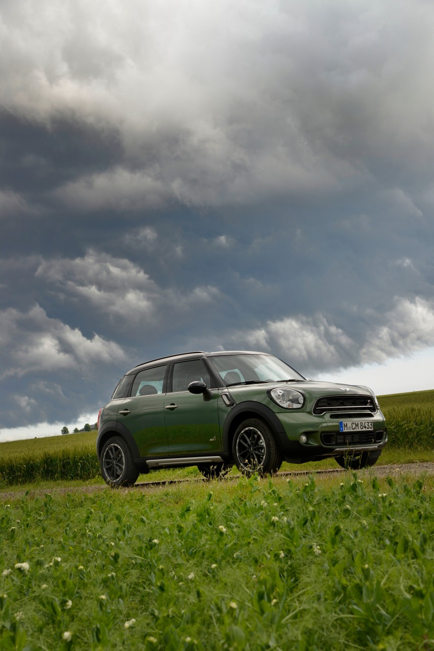 GALLERY: MINI Countryman, Paceman facelift detailed Image #258261