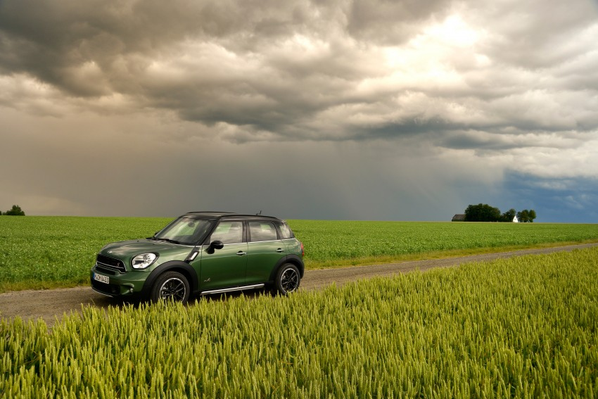 GALLERY: MINI Countryman, Paceman facelift detailed Image #258156