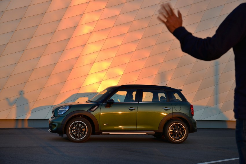 GALLERY: MINI Countryman, Paceman facelift detailed Image #258332