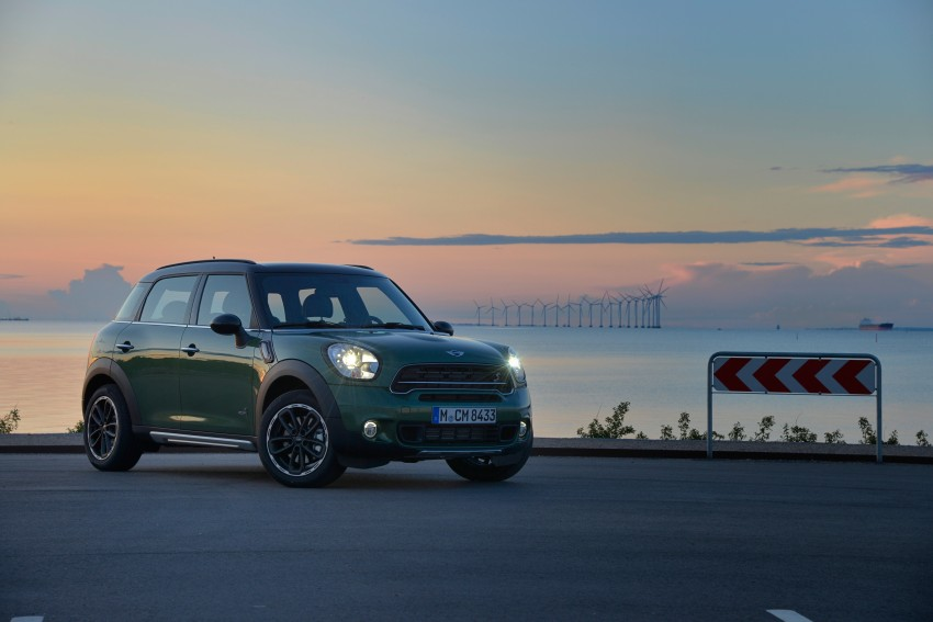 GALLERY: MINI Countryman, Paceman facelift detailed Image #258360