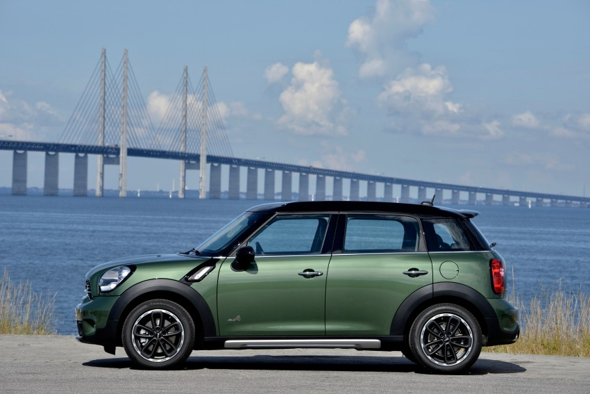 GALLERY: MINI Countryman, Paceman facelift detailed Image #258313