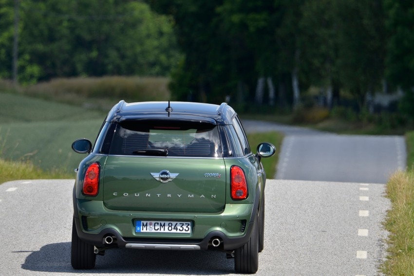 GALLERY: MINI Countryman, Paceman facelift detailed Image #258206