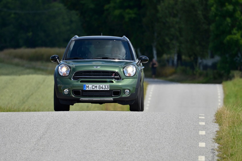 GALLERY: MINI Countryman, Paceman facelift detailed Image #258175