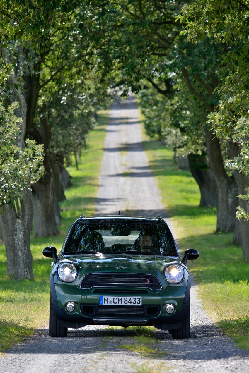 GALLERY: MINI Countryman, Paceman facelift detailed Image #258171