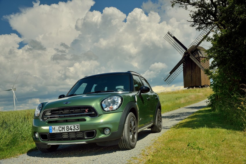GALLERY: MINI Countryman, Paceman facelift detailed Image #258153