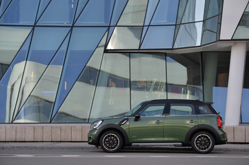 GALLERY: MINI Countryman, Paceman facelift detailed Image #258352