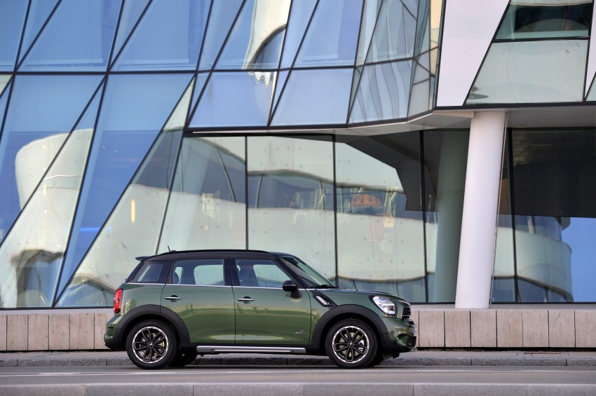 GALLERY: MINI Countryman, Paceman facelift detailed Image #258334
