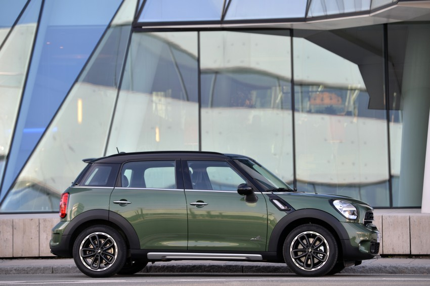GALLERY: MINI Countryman, Paceman facelift detailed Image #258375