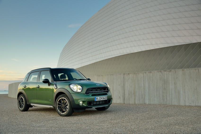 GALLERY: MINI Countryman, Paceman facelift detailed Image #258155