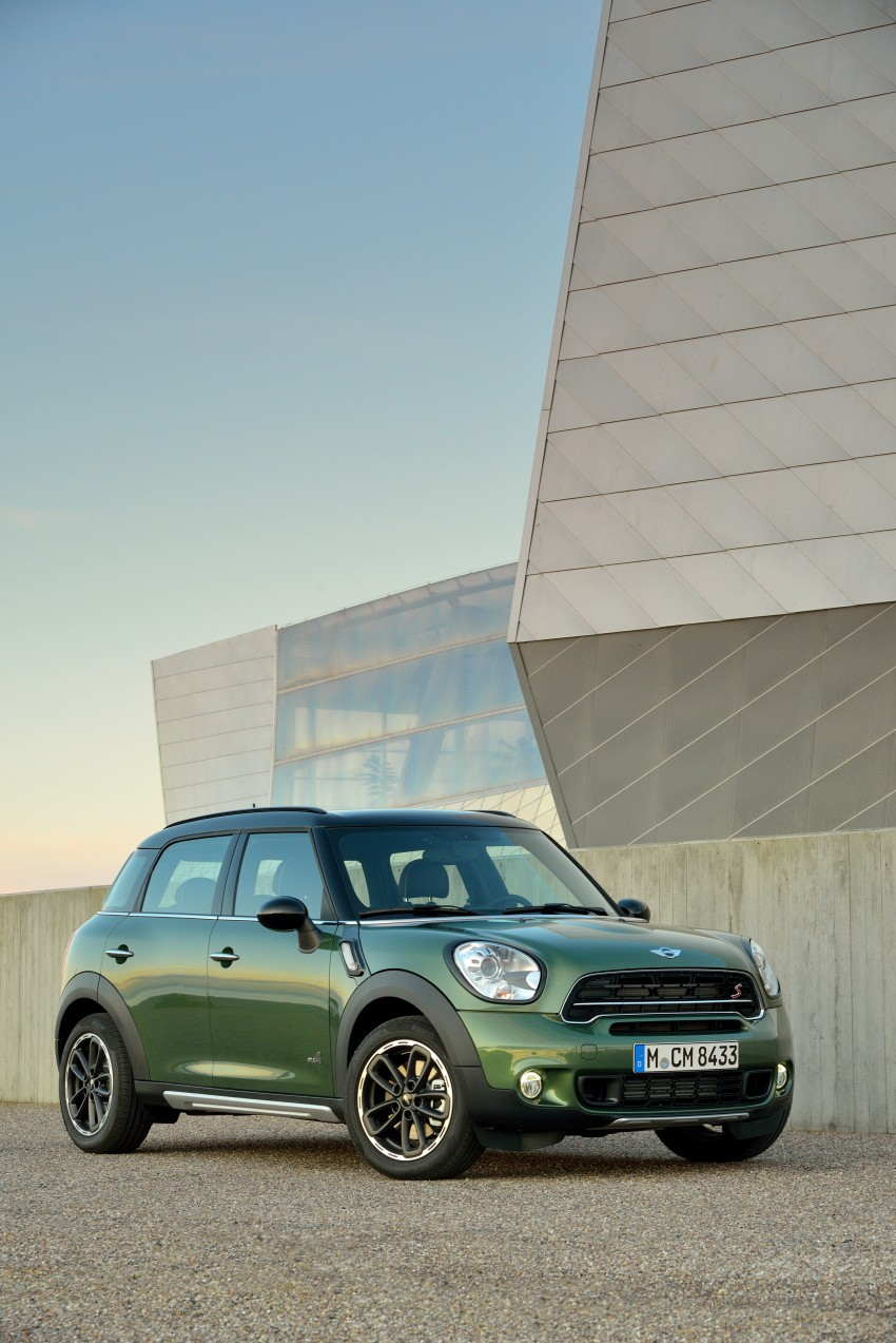 GALLERY: MINI Countryman, Paceman facelift detailed Image #258162