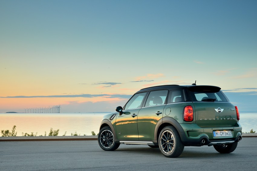 GALLERY: MINI Countryman, Paceman facelift detailed Image #258173