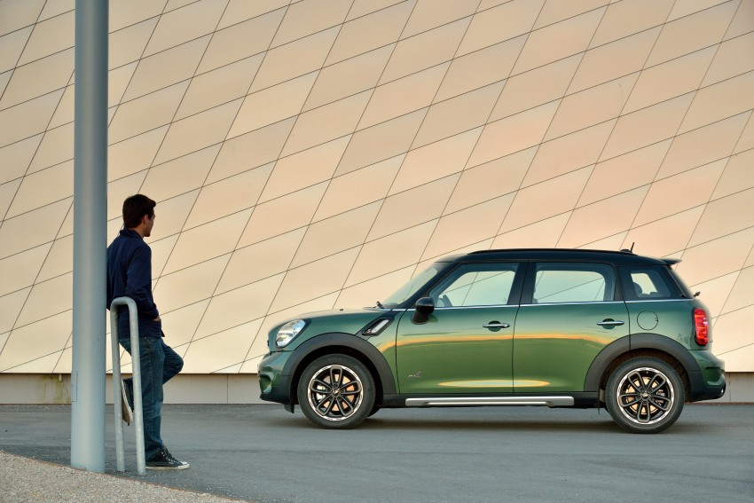 GALLERY: MINI Countryman, Paceman facelift detailed Image #258159