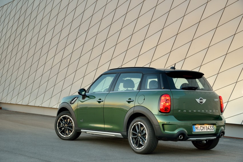 GALLERY: MINI Countryman, Paceman facelift detailed Image #258161