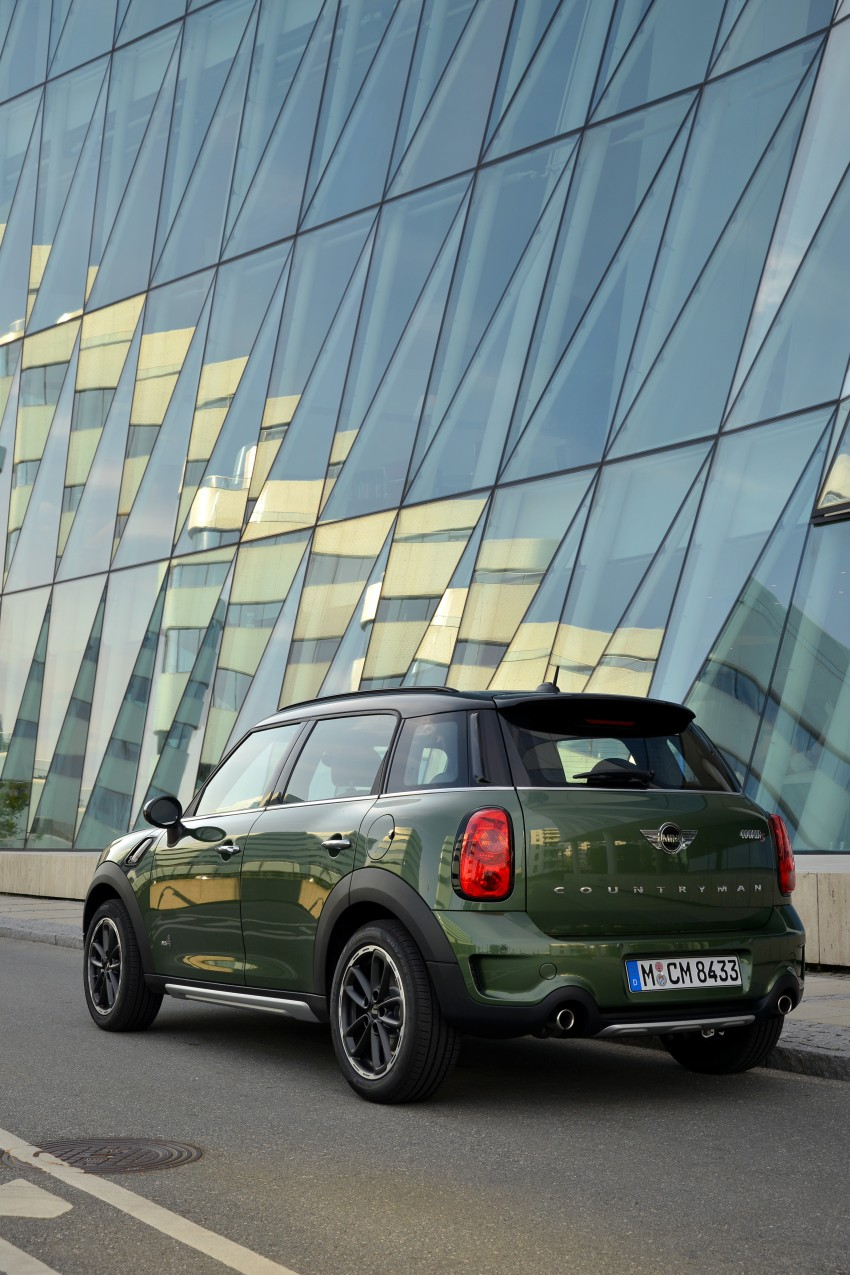 GALLERY: MINI Countryman, Paceman facelift detailed Image #258208