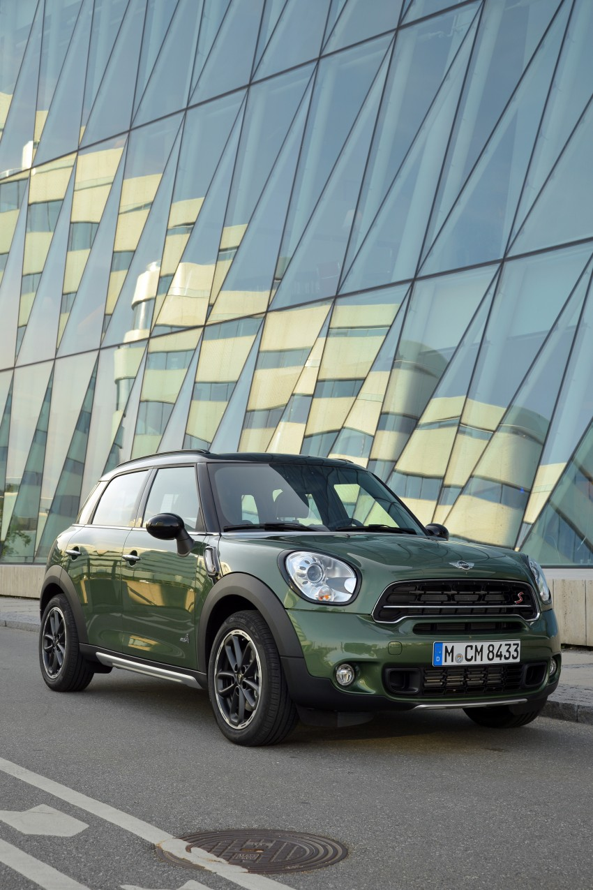 GALLERY: MINI Countryman, Paceman facelift detailed Image #258224