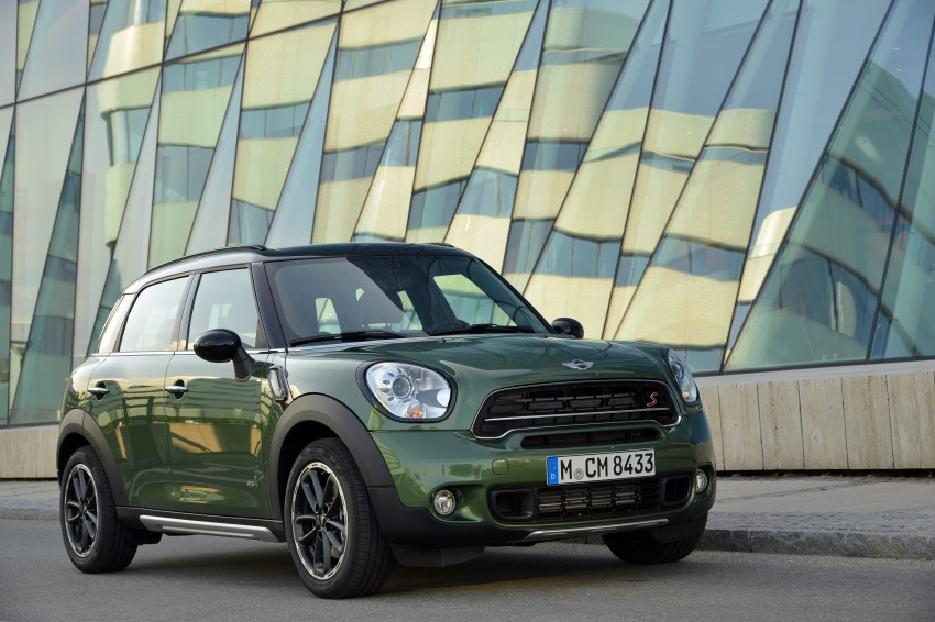 GALLERY: MINI Countryman, Paceman facelift detailed Image #258252