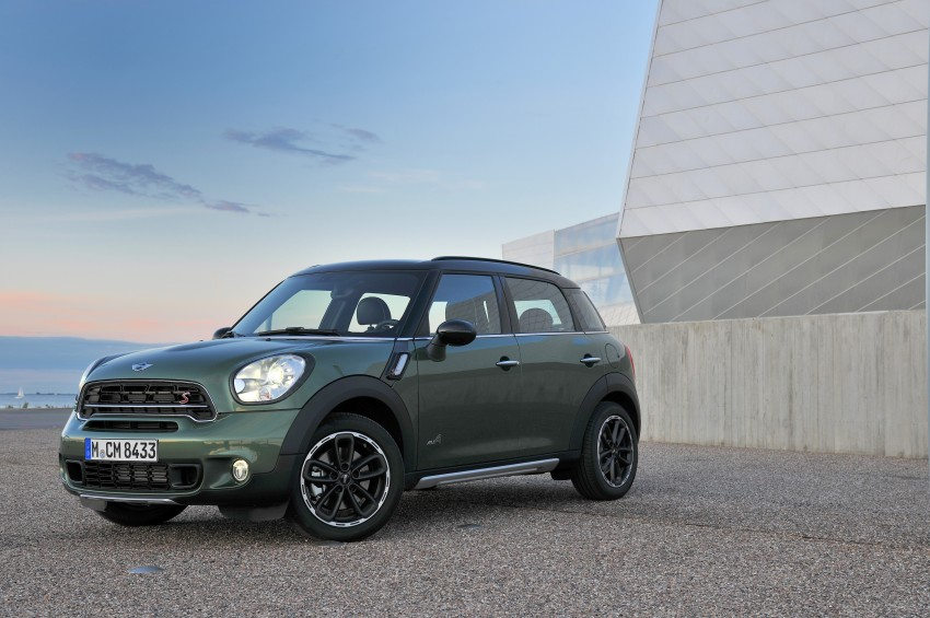GALLERY: MINI Countryman, Paceman facelift detailed Image #258188