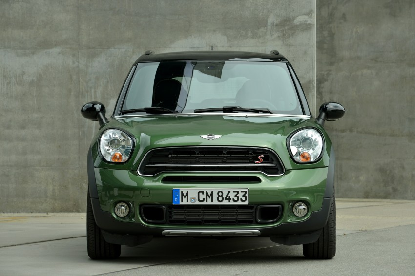 GALLERY: MINI Countryman, Paceman facelift detailed Image #258270