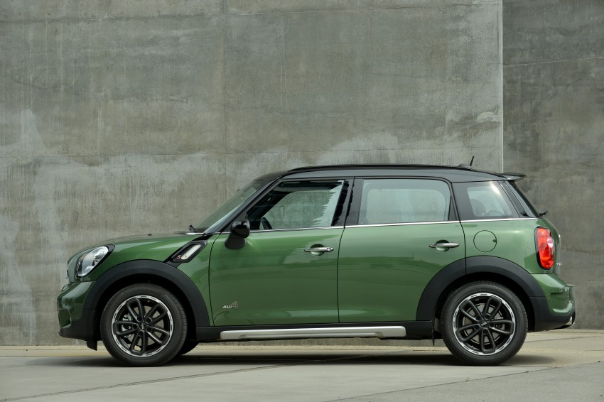 GALLERY: MINI Countryman, Paceman facelift detailed Image #258179