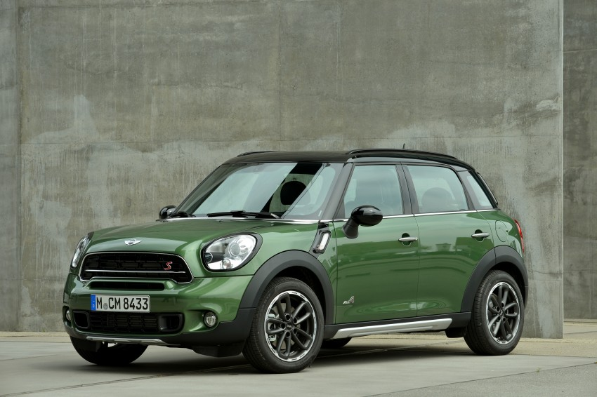GALLERY: MINI Countryman, Paceman facelift detailed Image #258184