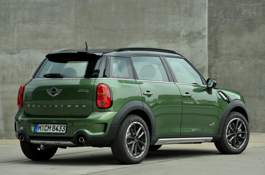 GALLERY: MINI Countryman, Paceman facelift detailed Image #258221