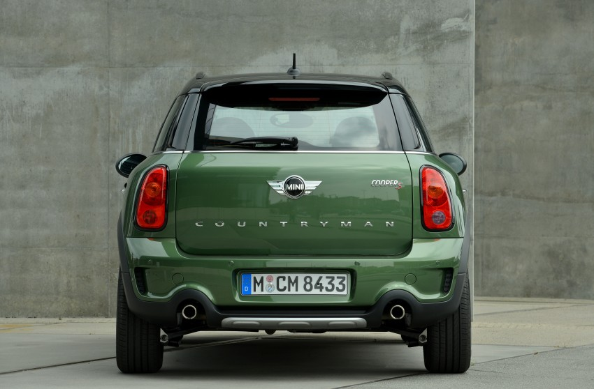 GALLERY: MINI Countryman, Paceman facelift detailed Image #258302